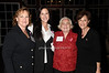 Terry Wheatley, Katie Wheatley,Muriel Siebert, Myra Biblowit<br /> photo by Rob Rich © 2009 robwayne1@aol.com 516-676-3939