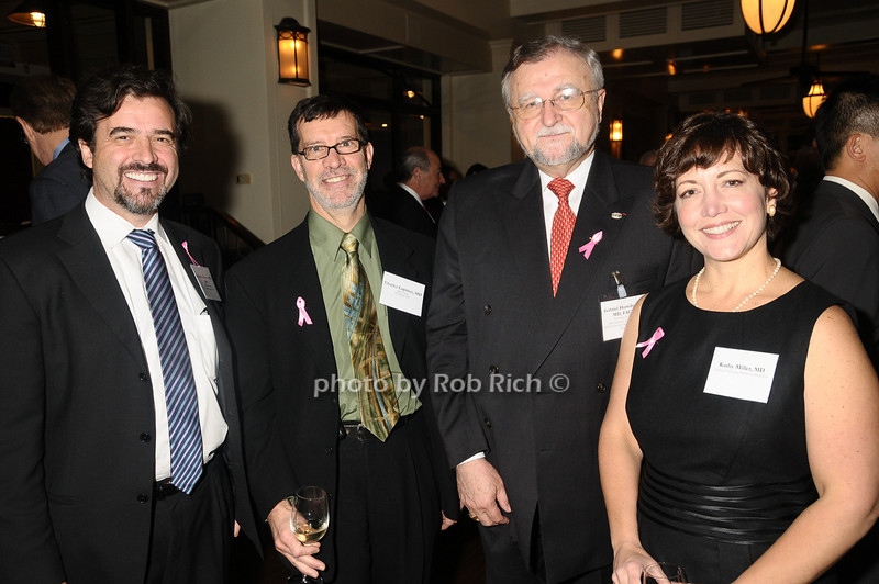 Francisco Esteva, Charles Loprinzi, Gabriel Hortobagyi, Kathy Miller<br /> photo by Rob Rich © 2009 robwayne1@aol.com 516-676-3939