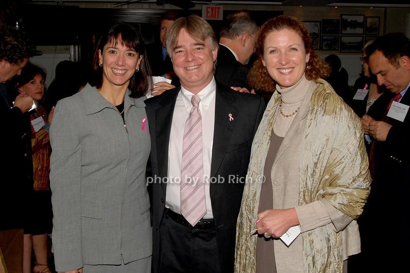 Monica Bertagnolli, Powel Brown and Lisa Carey<br /> photo by K.Doran for Rob Rich © 2009 robwayne1@aol.com 516-676-3939