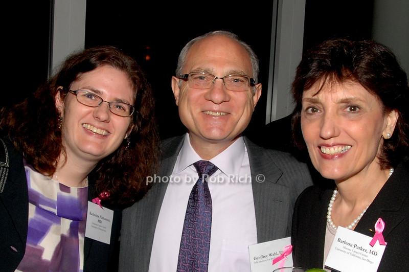 Katherine Nathanson, Geoffrey Wahl & Barbara Parker<br /> photo by K.Doran for Rob Rich © 2009 robwayne1@aol.com 516-676-3939