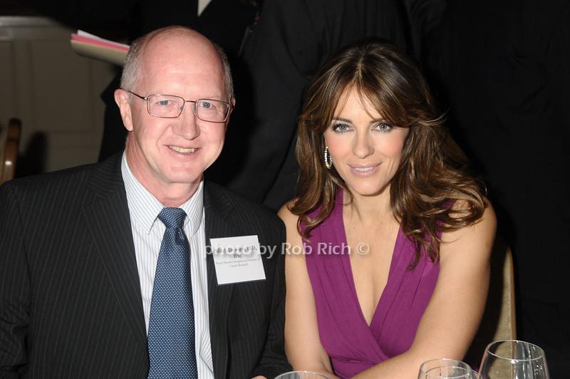 Mitch Dowsett, Elizabeth Hurley<br /> photo by Rob Rich © 2009 robwayne1@aol.com 516-676-3939