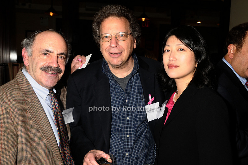Robert Weinberg, Michael Wigler, Nancy Lin<br /> photo by Rob Rich © 2009 robwayne1@aol.com 516-676-3939