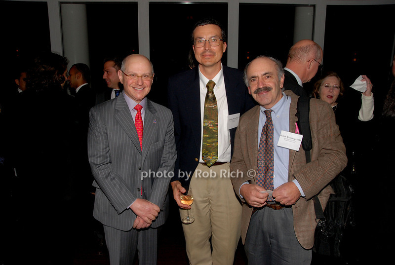 Larry Norton, Charles Perou & Robert Weinberg<br /> photo by K.Doran for Rob Rich © 2009 robwayne1@aol.com 516-676-3939