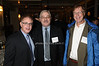 guest, Neal Rosen, Michael Clarke<br /> photo by Rob Rich © 2009 robwayne1@aol.com 516-676-3939