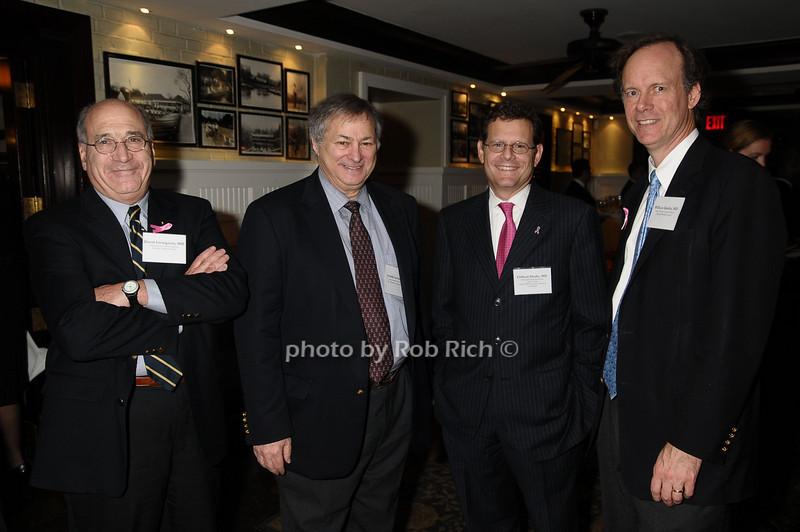 David Livingston,Arnold Levine, Clifford Hudis,William Kaelin<br /> photo by Rob Rich © 2009 robwayne1@aol.com 516-676-3939
