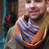 Pic for my blog discussing tips on choosing the perfect scarf.