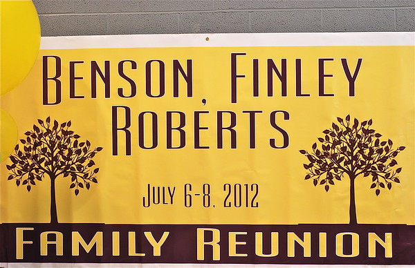 BENSON, FINLEY & ROBERTS FAMILY REUNION