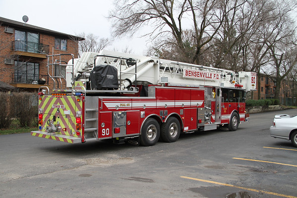 BFPD EXTERIOR PRE-PLAN 530, 540, 550 W. IRVING PARK ROAD