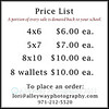 Dance Portrait Prices