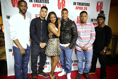 Eric Hill Jr, Quincy Combs, Keke Palmer, Cory Hardrict, Julito McCullum and James Lewis
