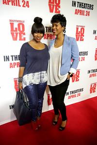 Kahdijha Rowe and Sabrina Rowe