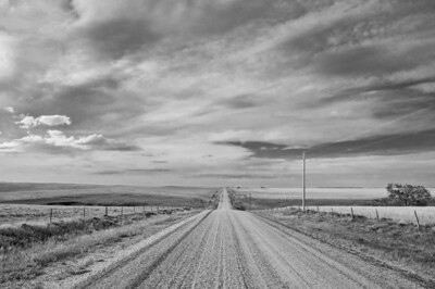Road near Black Hills Wild Horse Sanctuary