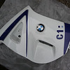 Side panel with BMW badge and decal in Williams blue/white. Scuffed on outermost edge (typical) £20 SOLD