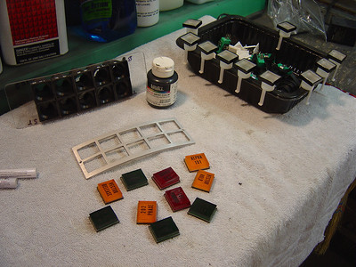 Chest buttons have now been assembles and the letters painted in with acrylic black paint. This is my 1st set. I didn't like the way they turned out. When the light shines through I could see air bubbles between the acrylic from when I glued them together. The second set turned out much nicer and can be seen in the LED light pictures later on.