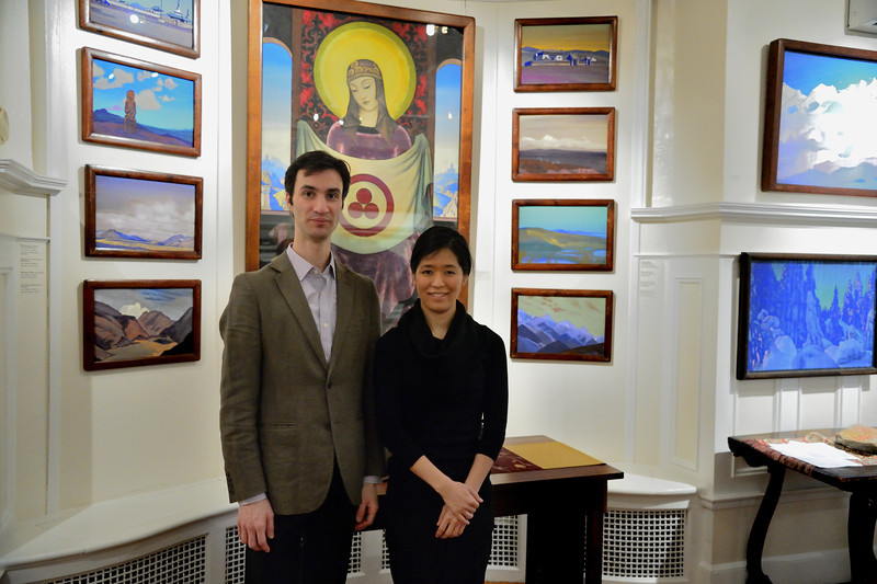 Great evening tonight with Akiko Kobayashi, Violinist and Eric Siepkes, Pianist performing Mozart, Beethoven, Bartok, and Schumann! http://www.akikokobayashi.net/   http://www.ericsiepkes.com/