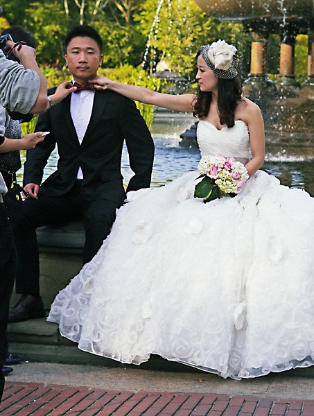 ALMOST MARRIED IN C ENTRAL PARK