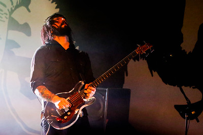 Death From Above 1979 play The Ogden Theater on Oct. 17, 2016. Photos by Michael McGrath heyreverb.com.