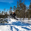 Action during  50th Anniversary LYNX / BRP CLUB 2018,  from March 19 to 21, 2017, at Rovaniemi, Finland - Photo Lina Arnautova / Autosportmedia.ru