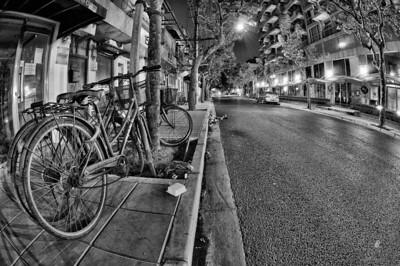 Shanghai - éjszakai utcarészlet