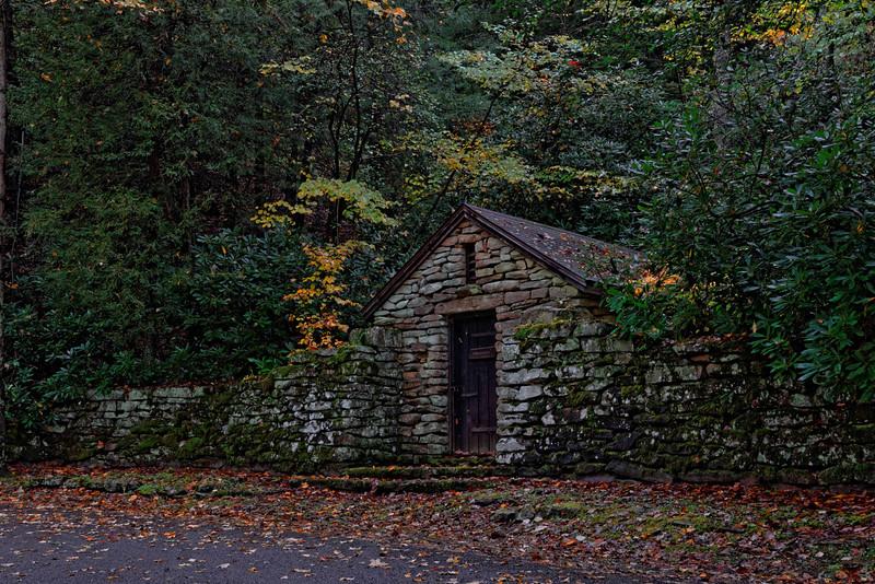 Pump House at Babcock State Park