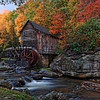 Glade Creek Mill at Sunrise