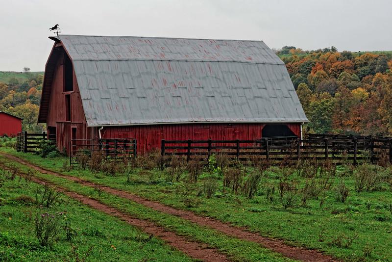 Red Barn near Jackson Ferry