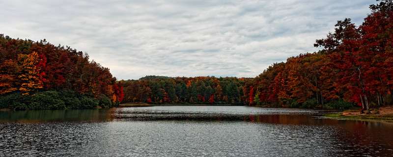 Boley Lake in Babcock State Park