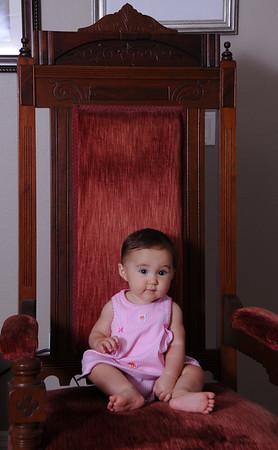 Ella Portraits... 81/2 months