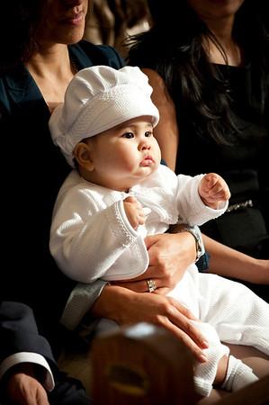 Baby Cruz Baptism.. Juan & Selene