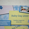 Baby Day post cards were sent out or handed out to invite babies as well as family and friends to our special day.