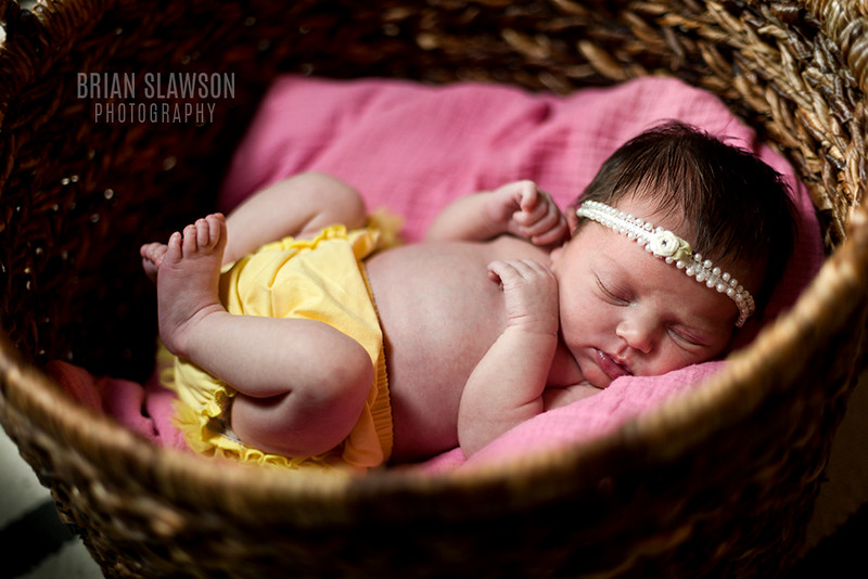 Milwaukee newborn photographer
