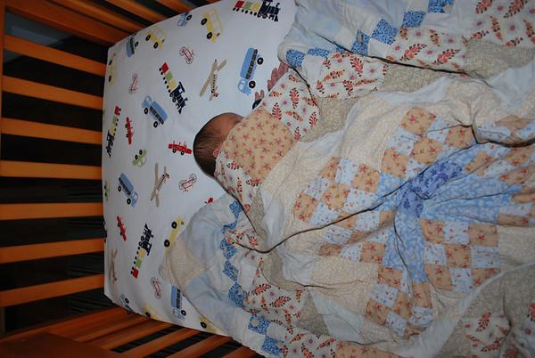 Baby Henry's 1st Nap in Crib