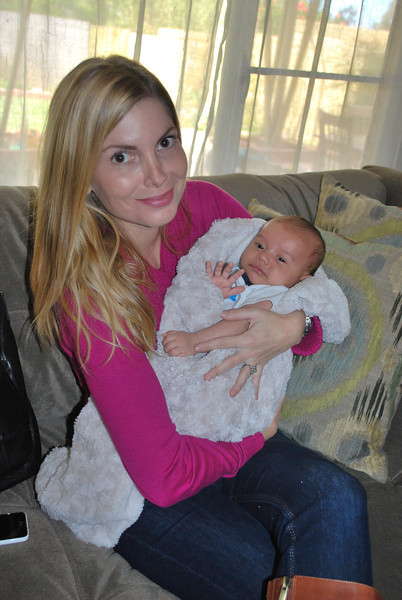 Baby Henry's First Visit with Nina