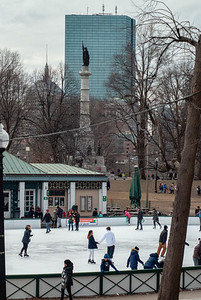 Frog Pond Boston Common