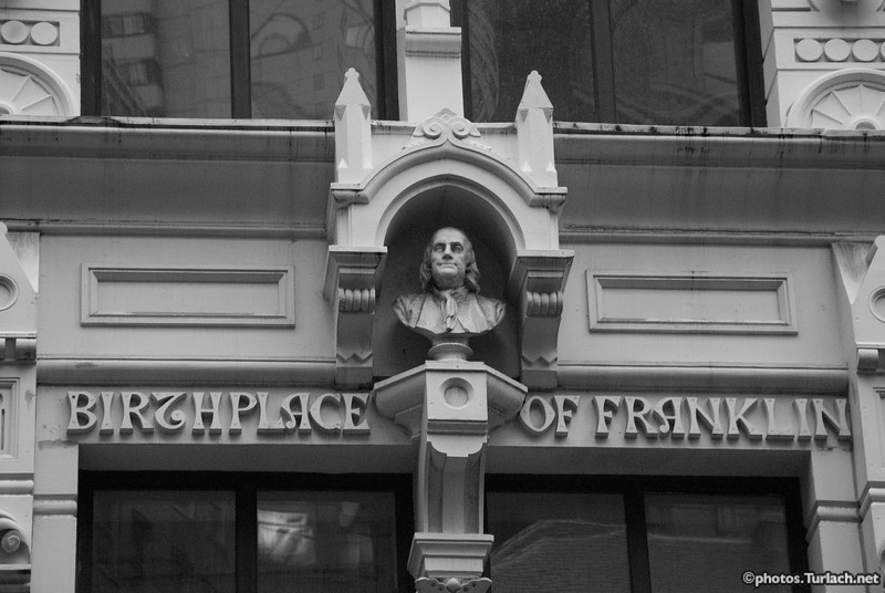 Birthplace of Franklin