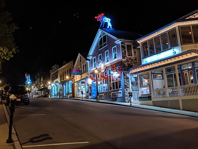 bar harbor at night - 1