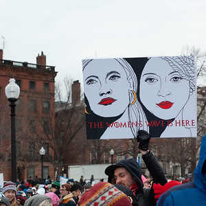 Woman's March Boston 2019 -