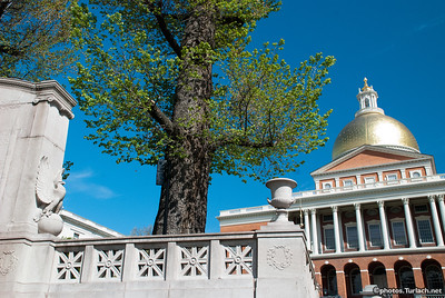 The Massachusettes State House - 1