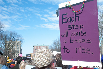 Boston Women's March - 14