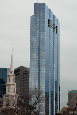 Park St Church and Millenium Tower