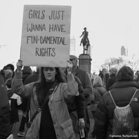 Boston Women's March - 36