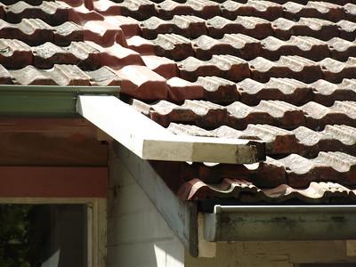 back roof/gutter fix