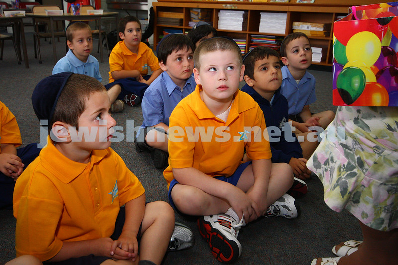 29/1/10. First day of school 2010. Prep class. Yeshivah College. Photo: Peter Haskin