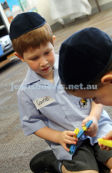 First day of school 2011. Gandel Besen House. Gavriel Sher. Photo: Peter Haskin
