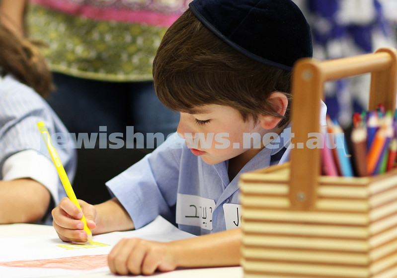 First day of school 2011. Gandel Besen House. Jack Lindell. Photo: Peter Haskin