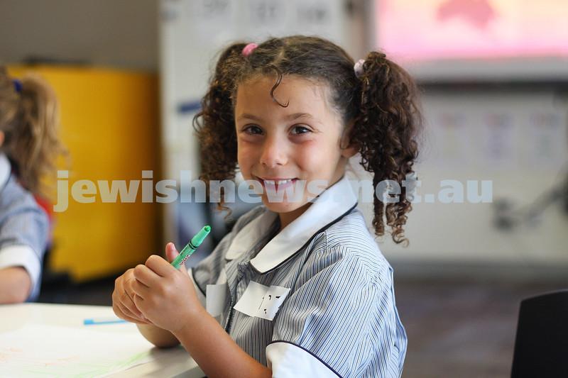First day of school 2011. Gandel Besen House. Mia Zeilinski. Photo: Peter Haskin