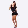 Pure Fashion White  Backdrop - 3/4 Body Length - 8ft x 8ft