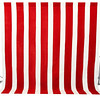 """Red and White Americana<br /> Stripes are 8"""" wide (red), 5"""" wide (white)"""