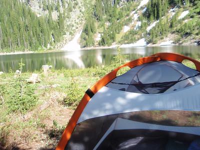 Lake side condo.