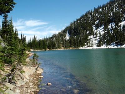 Upper Twin Lake.